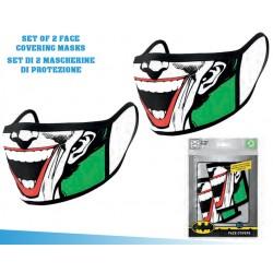 Set 2 Mascherine DC Joker