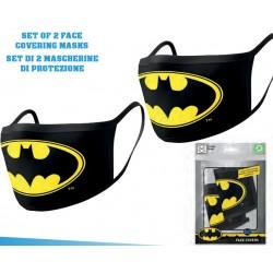 Set 2 Mascherine DC Batman